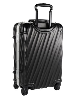 Mala de Cabine 56cm International Preta - 19 Degree Aluminium - Tumi